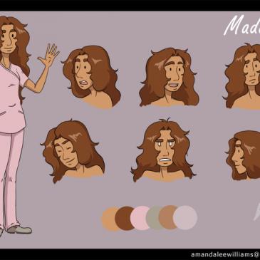 Maddy character sheet