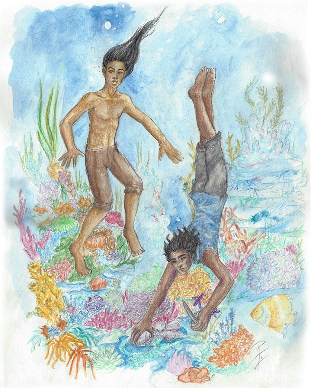 Divers by Ruth Lampi