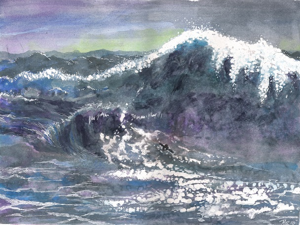 The Wave by Ruth Lampi