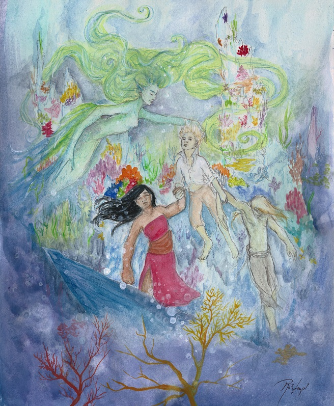 Underwater Finale by Ruth Lampi