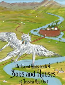 Sons and Houses cover sketch by S.A. Hannon