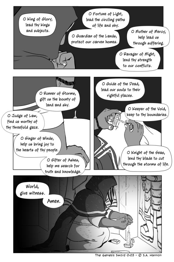The Genesis Sword, 0:03