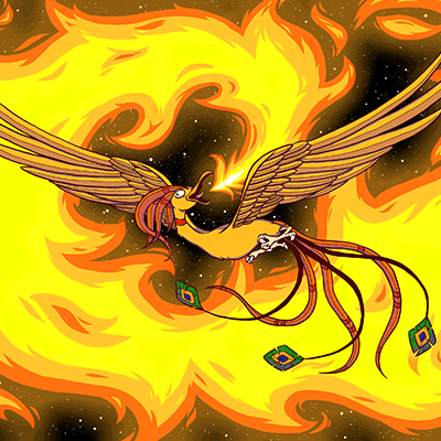 'phoenix' by Amanda Williams