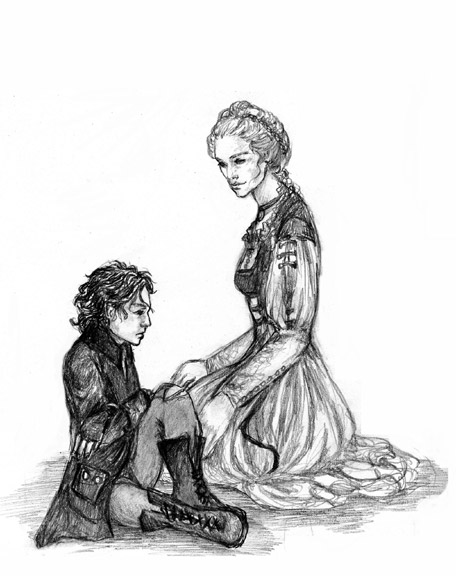 Kara and Hellin by Ruth Lampi